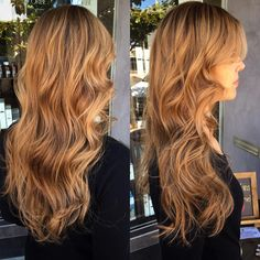 55 Lovely Honey Blonde Hair Color Ideas — Sweet and Tempting Check more at http://hairstylezz.com/best-honey-blonde-hair-color-ideas/