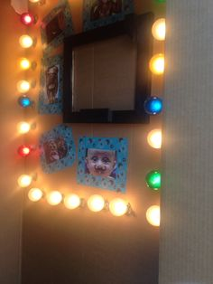 Inside of DIY Photo booth