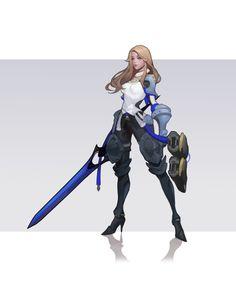 Female Character Design, Character Design References, 3d Character, Character Drawing, Character Illustration, Character Concept, Concept Art, Dark Fantasy Art, Anime Fantasy