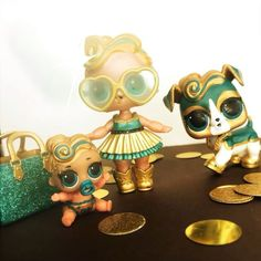 The golden family! Luxe Pup! #luxe #lolsurprise #luxefamily