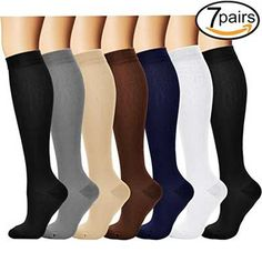 Underwear & Sleepwears Hard-Working 1 Pair Fashion Unisex Men Women Leg Support Stretch Magic Knee High Compression Socks Fitness Varicose Cotton Socks Anti Fatigue Dependable Performance