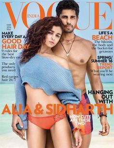This Alia And Sidharth Vogue Photoshoot Photos Are Too Hot To Handle!