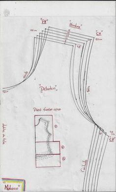 modazeus: blusa básica para niñas escalada para telas con elongacion