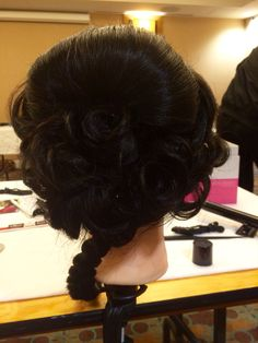 Hair by Aman Basra. 7782421786 Abbotsford, BC Parandi/ updo style