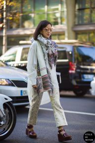 STYLE DU MONDE / Paris FW SS15 Street Style: Karla Martinez  // #Fashion, #FashionBlog, #FashionBlogger, #Ootd, #OutfitOfTheDay, #StreetStyle, #Style