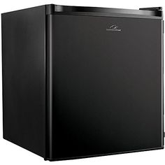 Commercial Cool CCR16B Compact Single Door Refrigerator and Freezer, 1.6 Cu. Ft. Mini Fridge, Black