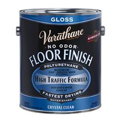 Varathane® Crystal Clear Floor Finish Product Page
