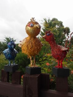 Most of the sculptures shown are completed using a textile hardener, Powertex. Refer to the Powertex page for product information. Paper Clay, Paper Mache, Faeries, Sculpting, Sculptures, Textiles, Birds, Christmas Ornaments, Wall Art