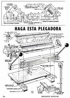 EL TALLER DE ROLANDO-EL HÁGALO USTED MISMO EN SU MÁXIMA EXPRESIÓN-ENCUENTRA TODO LO QUE BUSCAS PARA HACER LO QUE TE GUSTA-REPARACIONES, CARPINTERÍA, TORNO, DOBLADORA DE TUBOS, HERRAMIENTA ELÉCTRICA, MUEBLES, HERRERIA, SOLDADURA, TODO GRATIS Metal Bending Tools, Metal Working Tools, Metal Tools, Metal Projects, Welding Projects, Sheet Metal Bender, Metal Fabrication Tools, Roof Flashing, Welding Cart