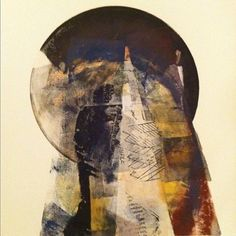 World's Fair by Tom DiSilvio Monotype with Chine collé