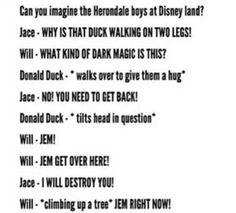 I think Jace would be calling on Alec for backup too. lol <<Ducks do walk on two legs Jace, you moron>> Mortal Instruments Funny, Immortal Instruments, Shadowhunters The Mortal Instruments, Book Memes, Book Quotes, Nos4a2, Shadowhunters Series, Clary And Jace, Will Herondale