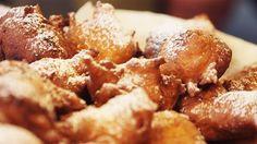 Falsterske nonner er en dessert fra Falster, hvor gærdej sprødsteges til lune bolde og overdrysses med flormelis.