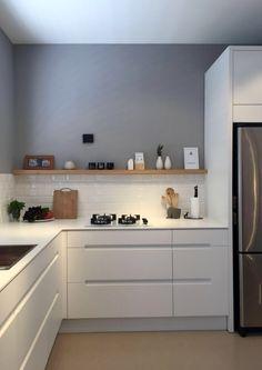 45 best kitchen backsplash ideas 2 - Kitchen - Home Sweet Home Farmhouse Style Kitchen, Rustic Kitchen, New Kitchen, Kitchen Ideas, Farmhouse Sinks, Kitchen Hacks, Modern Farmhouse, Apartment Kitchen, Kitchen Interior