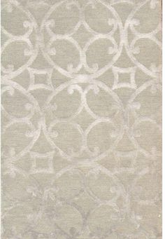 Beautiful and elegant area rug for the master bedroom, Pasargad Modern Silk & Wool Area Rug- 6'x9'