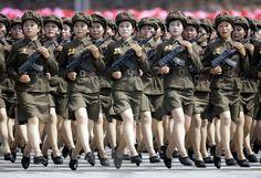 North Korea - AK47's