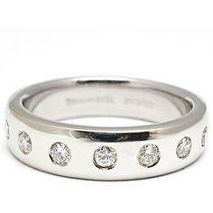 tiffany and co wedding rings estate tiffany co mens diamond wedding band ring