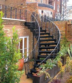 Here is design of exterior staircases ranging from traditional cast basement stairs ,luxury feature staircases to enhance the most elegant garden, from Demax designs.: