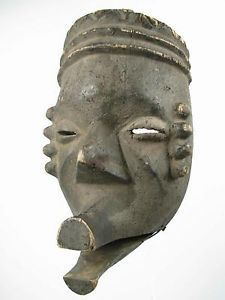Nigerian Ibibio Tribal Mask (via Gotham Gallery of African Art)