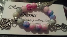Check out this item in my Etsy shop https://www.etsy.com/listing/211380503/custom-bracelet-elastic-clasp