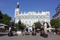 Madrid Highlights Guided Segway Tour Discover Madrid on a smooth, self-balancing Segway during a 2- or 3-hour tour. The 2-hour Madrid Segway Tour will take you to the city center which has been Spain's center of power since several hundred years and is the capital's most important district in terms of history and culture. The 3-hour tour additionally leads to the Paseo de Prado with its world-famous museums and the city's vast urban park El Retiro. Accompanied by a knowledgeab...