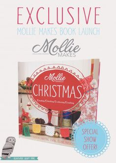 Mollie Makes Christmas book   Mollie Makes