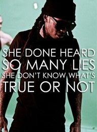 lil wayne #YMCMB truth or lies.