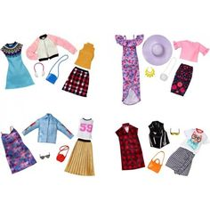 Barbie Fashion (Styles May Vary) - Walmart Fashions - Ideas of Walmart Fashions - Barbie Fashion (Styles May Vary) Barbie Doll Accessories, Doll Clothes Barbie, Barbie I, Barbie House, Barbie Dress, Fashion Accessories, Barbie Stuff, Barbie Outfits, Barbie Camper