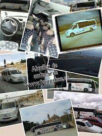 Alquiler de autocares - Fotografía collage http://alquilerdeautocares.mobi