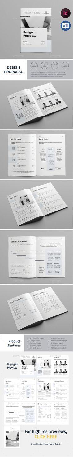 Project Proposal Template  Minimalist  Project Proposal