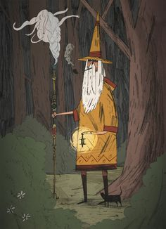 wizard by Joe Todd Stanton