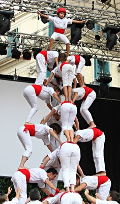 Catalan Human Towers -  a.k.a. Castellers!