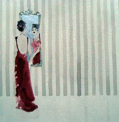 Mirror Mirror   Bridget Davies #Illustration