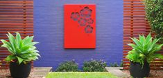 Urban Design Systems |HIBISCUS- Decorative Laser Cut Metal Screens