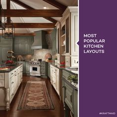 The g shaped kitchen is similar to the u shaped kitchen for Single wall galley kitchen