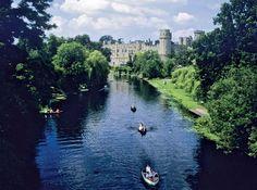 River Avon (Warwickshire) | ... at Warwick, on the River Avon (East Avon), Warwickshire, England