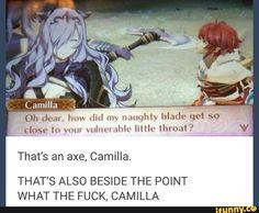 Calm down Camilla
