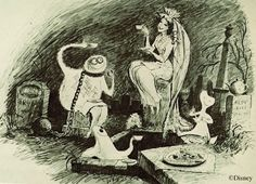 Marc Davis -- designed of Haunted Mansion and Pirates of the Caribbean