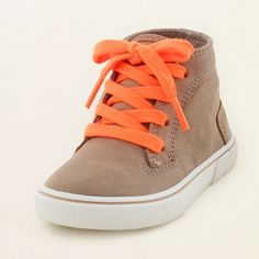 baby boy - outfits - lil' rocker - bold mid-top sneaker | Children's Clothing | Kids Clothes | The Children's Place