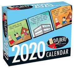 Dilbert 2020 Day-to-Day Calendar - Best Sellin Books Funny Calendars, Desk Calendars, Daily Calendar, Desktop Calendar, Dilbert Cartoon, Middle Management, Family Child Care, Christmas Mom, Christmas 2019