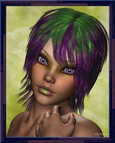 Mardi Gras Blossom by tattfae.deviantart.com on @DeviantArt