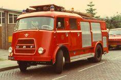 DAF brandweer wagen