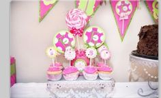Pink birthday ( candy shop)