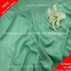 12mm silk crepe de chine fabric-lake-green http://www.silkfabricuk.com/12mm-silk-crepe-de-chine-fabriclakegreen-p-365.html