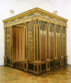 Alcova by Federico da Montefeltro - Galleria Nazionale delle Marche, Palazzo Ducale in Urbino - OFFICIAL SITE