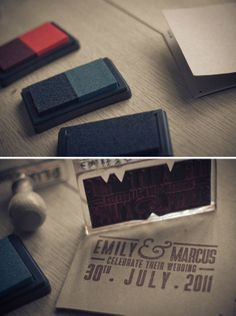 Custom Stamp Program/Invites
