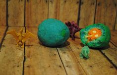 Dinosaur surprise bath bomb by Scented Owl Creations  http://scented-owl-creations.mybigcommerce.com