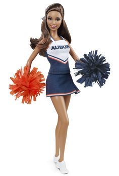 Auburn University Barbie® Doll (African American) | Barbie Collector. War Eagle!