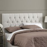 Found it at AllModern - Premier Micro Suede Tufted Upholstered Headboard