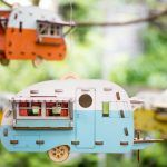 Retro Birdhouse Camper Kit Makes the Perfect Backyard Outpost