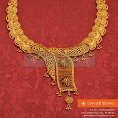 #Gorgeous #beautiful #fabulous #designer #attractive #gold #necklace from our exclusive collection.